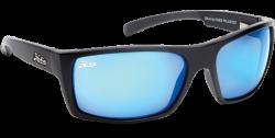 Hobie Polarized Sunglasses Baja 010168 Blue Mirror Grey Sport Lens