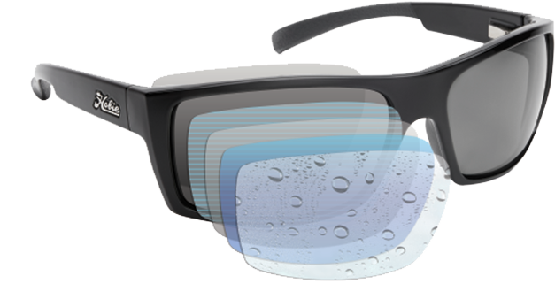 polarised hydro clean motion collection lens technology