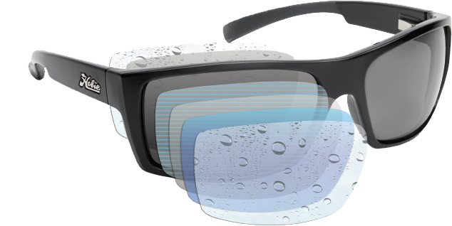 polarised hydro sport collection lens with 360 technology