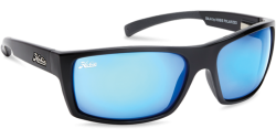 Hobie Polarized Sunglasses Baja 000065 Blue Mirror Grey Glass Lens