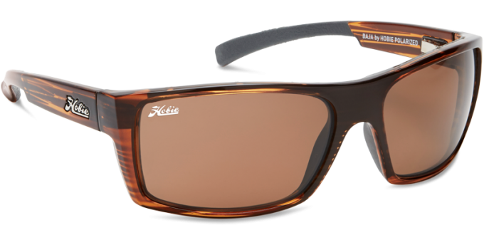 Hobie Polarized Sunglasses Baja 292925 Copper Glass Lens