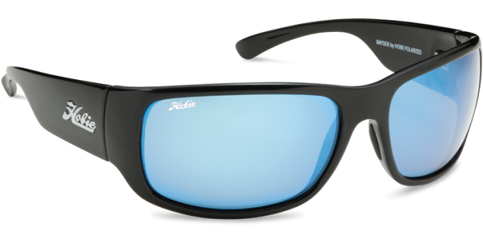 Hobie Polarized Sunglasses Bayside 010168 Blue Mirror Grey Sport Lens