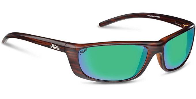 Hobie Polarized Sunglasses Cabo 191926 Green Mirror Copper Sport Lens