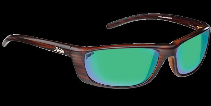 Hobie Polarized Sunglasses Cabo 191926 Green Mirror Copper Sport Lens