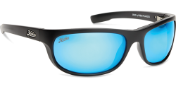 Hobie Polarized Sunglasses Cruz 010168 Blue Mirror Grey Sport Lens