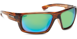 Hobie Polarized Sunglasses Mojo 191926 Green Mirror Copper Sport Lens