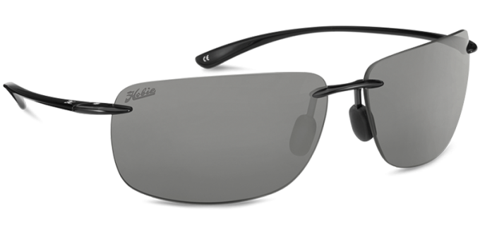 Hobie Polarized Sunglasses Rips 000008 Grey Sport Lens