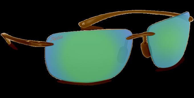 Hobie Polarized Sunglasses Rips 252526 Green Mirror Copper Sport Lens