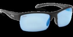 Hobie Polarized Sunglasses Rockpile 010168 Blue Mirror Grey Sport Lens