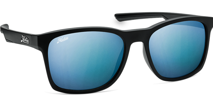 Hobie Polarized Sunglasses Sand Cut 010168 Blue Mirror Grey Motion Lens