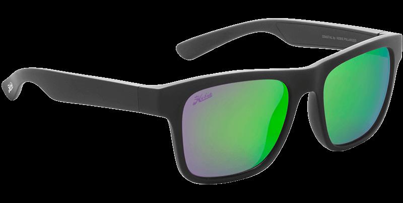 Hobie Polarized Sunglasses Coastal Float B010126 Sea Green Mirror Sport Lens